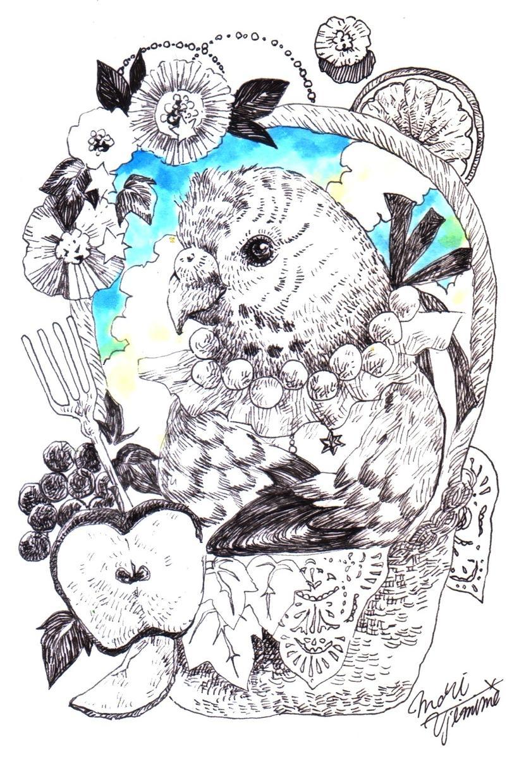 物語の挿絵のようなペットのイラストお描きします プレゼントや思い出の品にどうぞ イメージ1