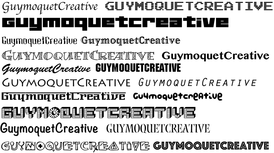 【ココナラ限定】アートデレクターが英文フォントでロゴ&サービス名をDESIGNします。
