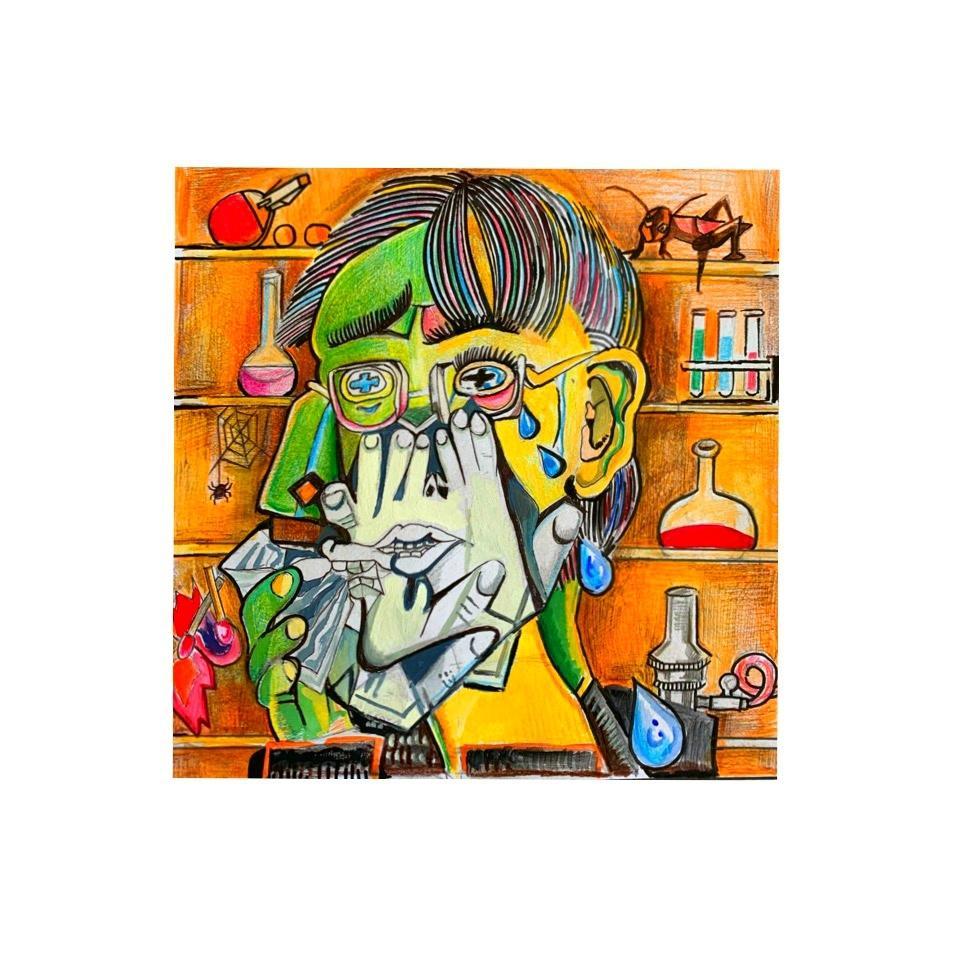 自由自在! ○○風の、似顔絵、イラストを制作します 【ピカソ風も!】大切な人、自分への贈り物にぜひ絵画を! イメージ1