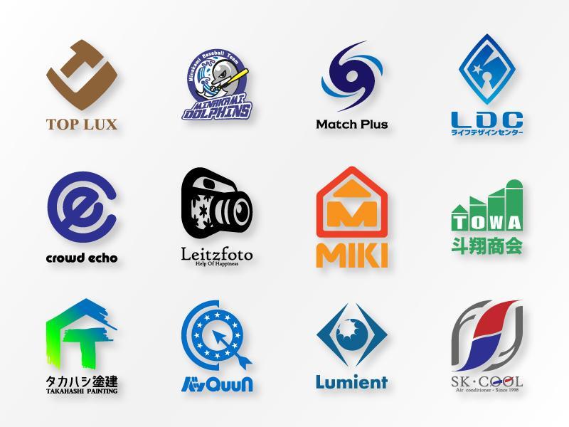 会社や店舗のオリジナルロゴを作成いたします ロゴを作ってもっと自社をアピールしよう!