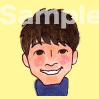 ゆるかわ似顔絵アイコンお描きします シンプルなのにそっくり!?商用、二次利用OK