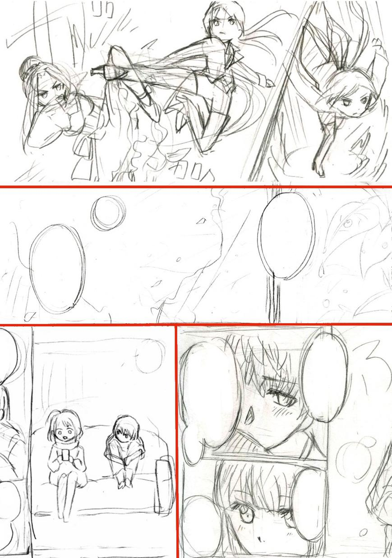 鉛筆画 漫画イラスト描きます 手描き漫画です。お気軽にどうぞ