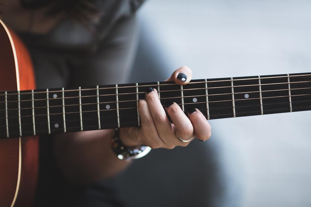 ギター【弾き語り】完成度上げます コードやストロークなど弾き語りのためのサービス