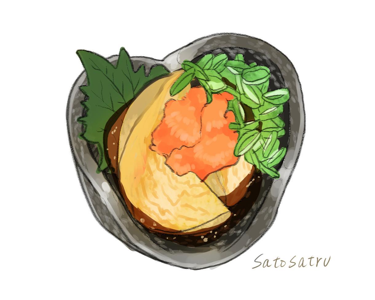 お料理のイラスト化承ります レシピやメニュー表への使用にどうぞ