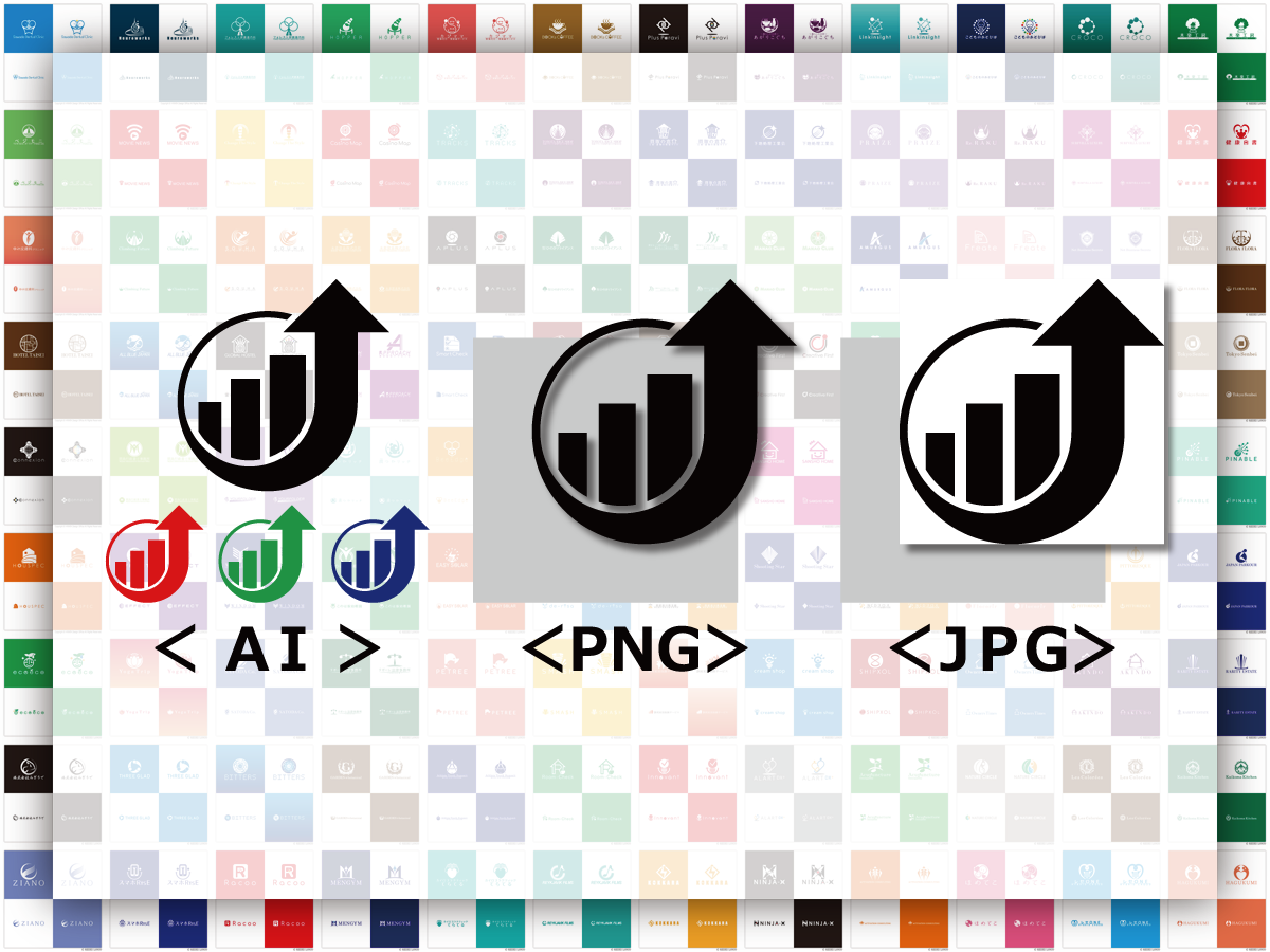 キャンセル可能☆ロゴ専門のデザイナーが作成します 「AIデータ納品・修正無制限・キャンセル可能・著作権譲渡」