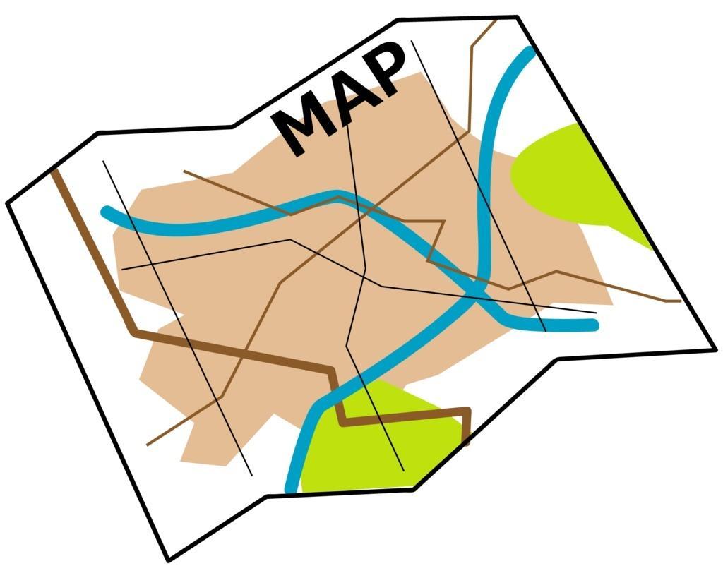地図作成代行します シンプルかつ分かりやすい地図・案内図を作成します。 イメージ1