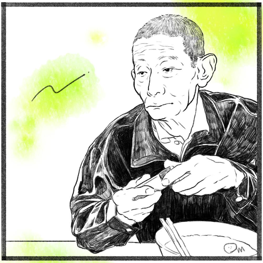似顔絵をかっこよく仕上げます 多くの人に好まれる、鉛筆画風のシンプルな似顔絵を制作します イメージ1