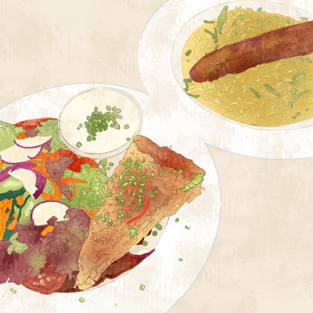 リアリティのある食べ物のイラスト描きます リアリティに加え、絵ならではの鮮やかさをお届けします!