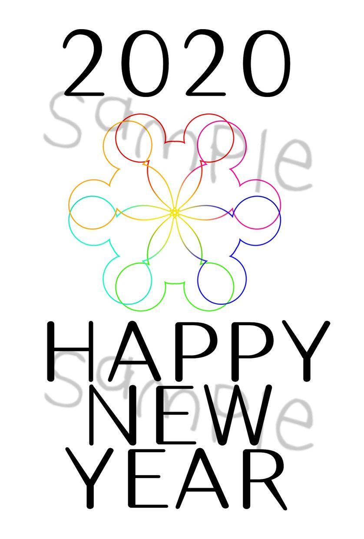 2020年の年賀状デザインします シンプルなものから可愛いものまで!(サンプルそのまま可能)