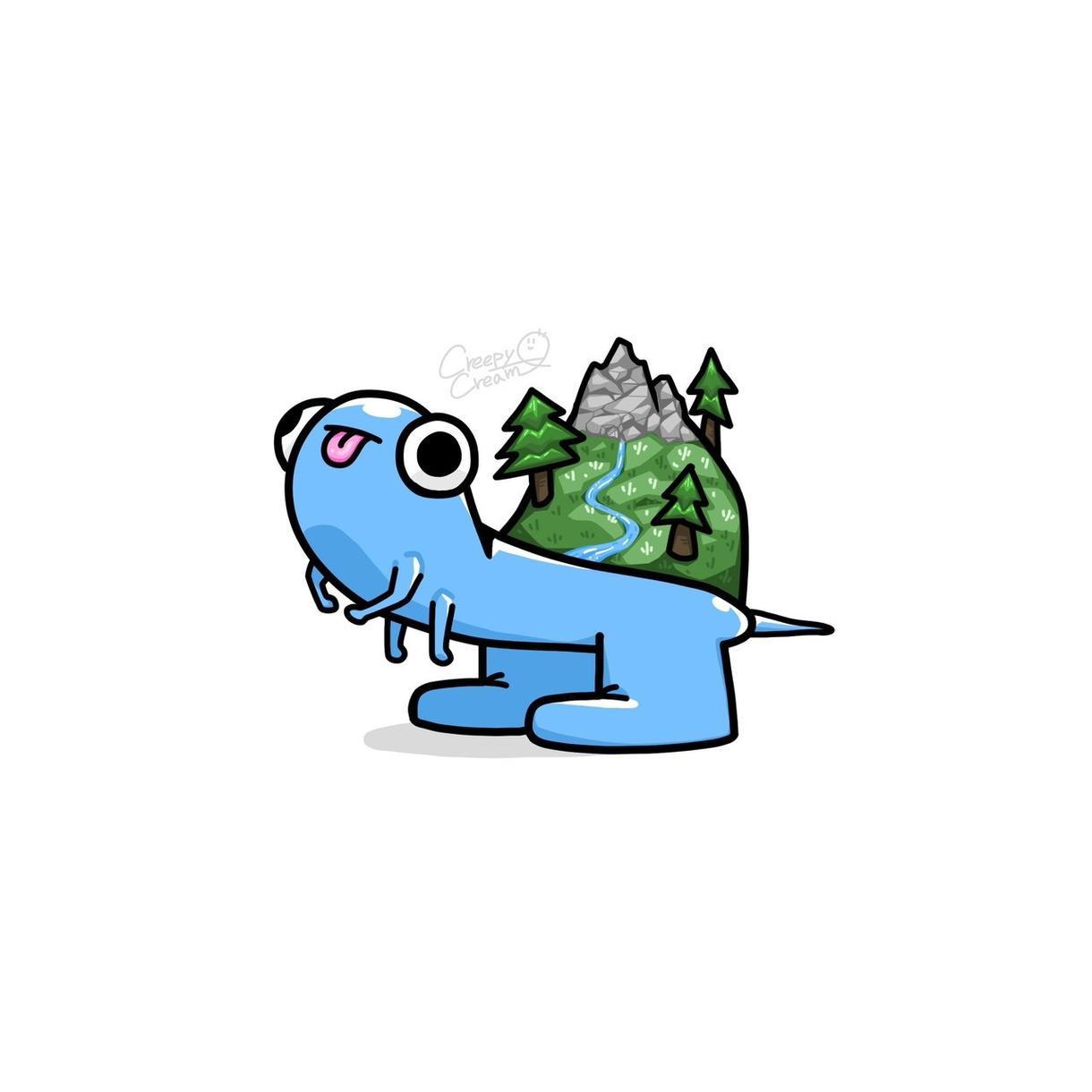 ポップでキモかわいいキャラクターを制作します 【商用OK】あなただけのキモかわいいキャラクターを描きます! イメージ1