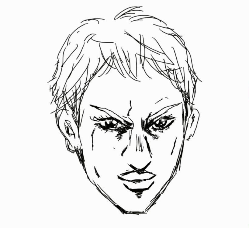 ジョジョ風!?奇妙な似顔絵お描き致します ☆SNSのアイコンにオススメ☆