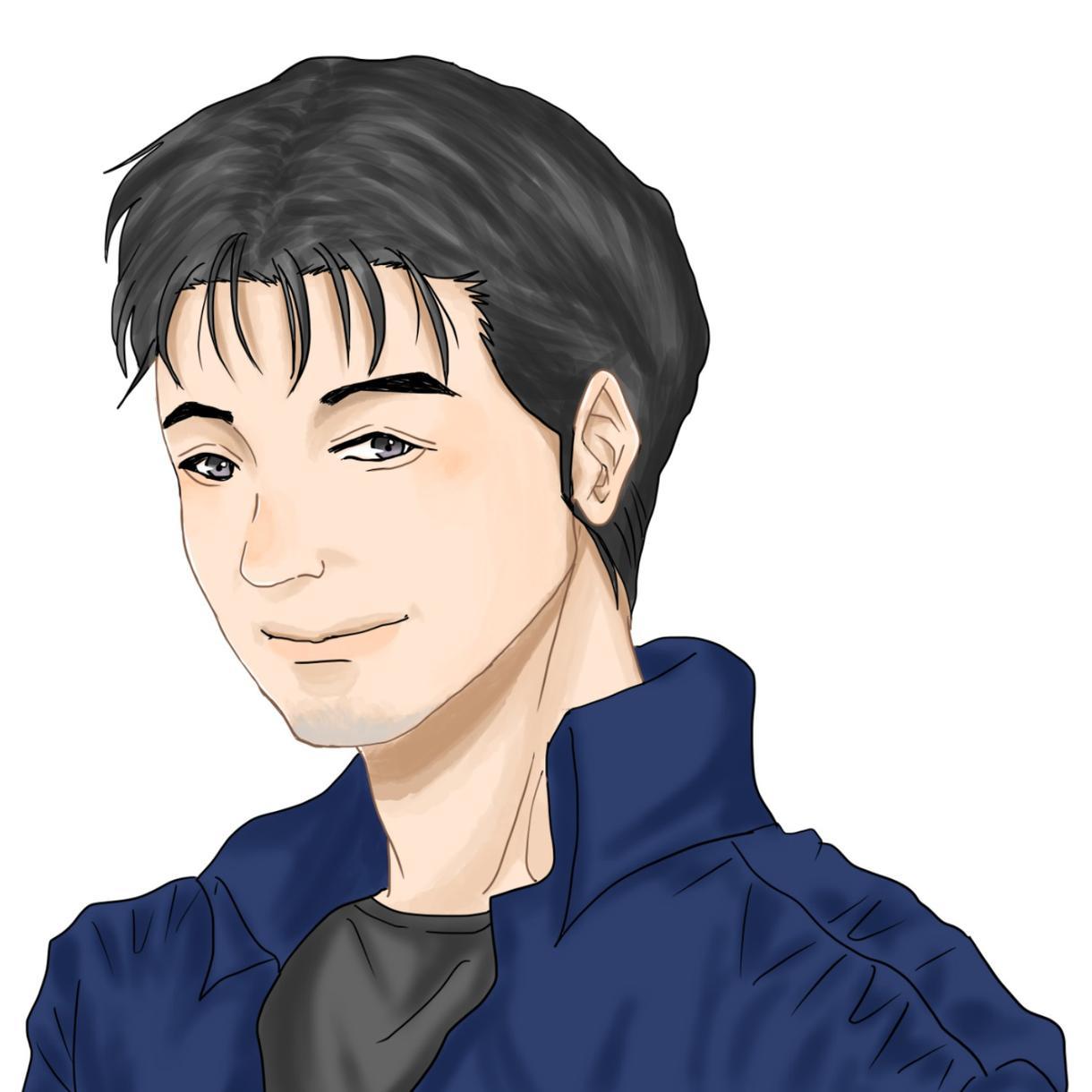 似顔絵イラストをお描きします