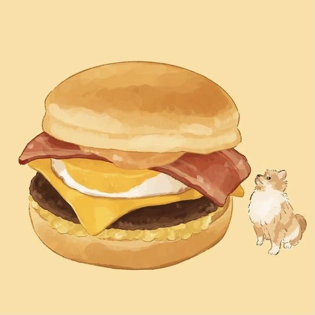 食べ物を美味しそうなイラストで再現します 飲食店のメニューなどにおすすめです イメージ1