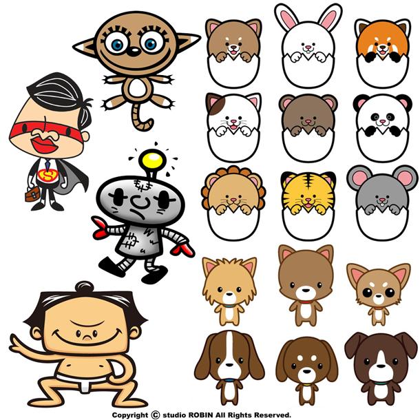 実績多数!!ハイクオリティなキャラクター制作します 期間限定価格!!オプションで商用利用&グッズ化Ok!