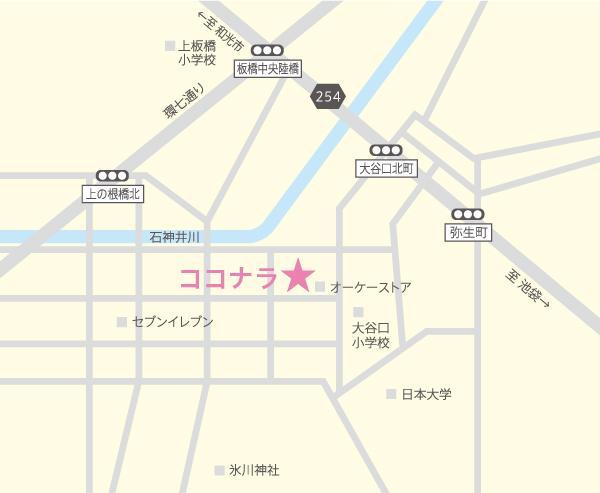 住所だけでお好みの地図を作成します チラシ・HPの作成に!Illustratorでデザインします