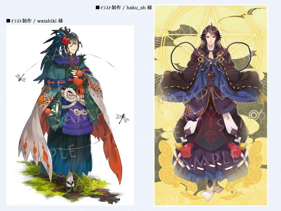 キャラクターイラスト制作・線画彩色いたします 依頼主様が納得のいくまで対応します