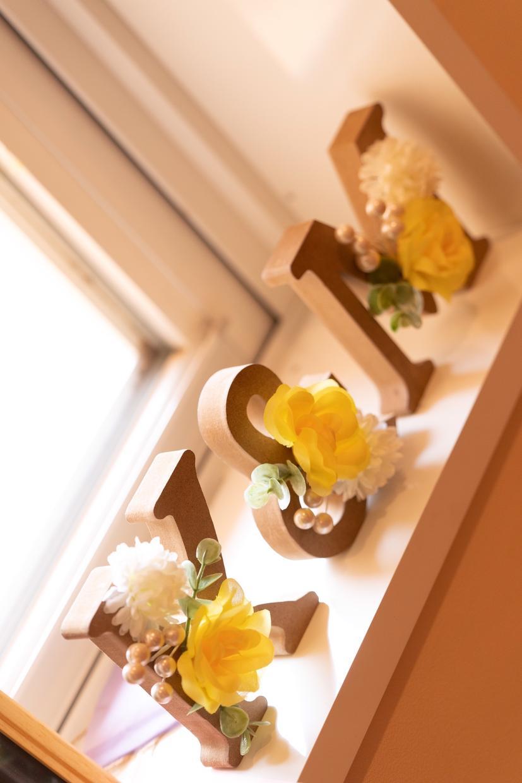 結婚式のイニシャルオブジェ デザインします イニシャルオブジェのデザイン結婚式のウェルカムスペースに!