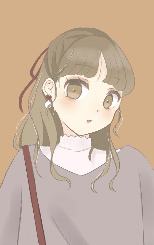 可愛い女の子描きます 可愛く描きます!Twitter、インスタなどのアイコンにぜひ イメージ1