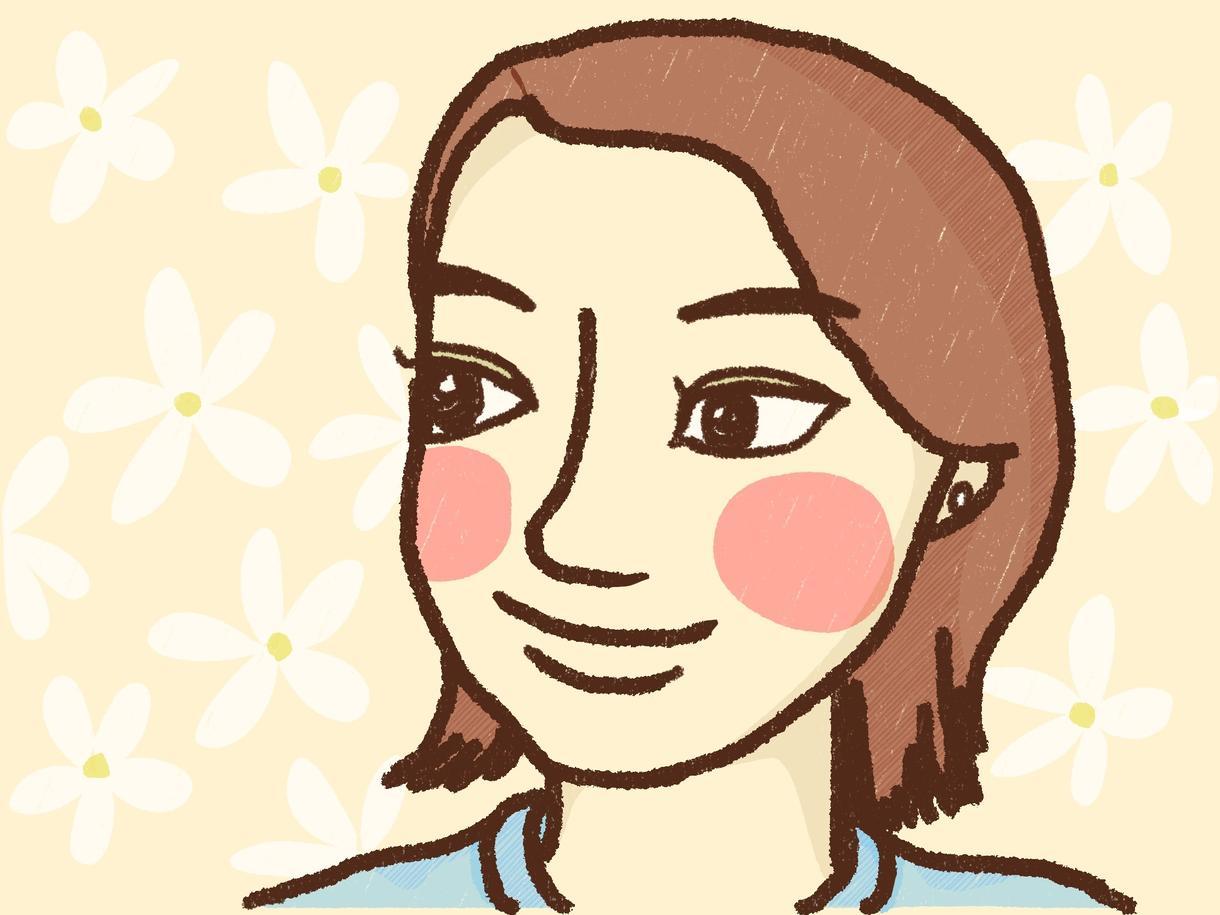 似顔絵SNS用アイコン描きます 雰囲気のある線画をベースにしたイラストレーションです。