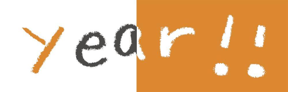 かわいい文字(ワンフレーズ)を描きます 年賀状やオリジナルカードなどにいかがですか