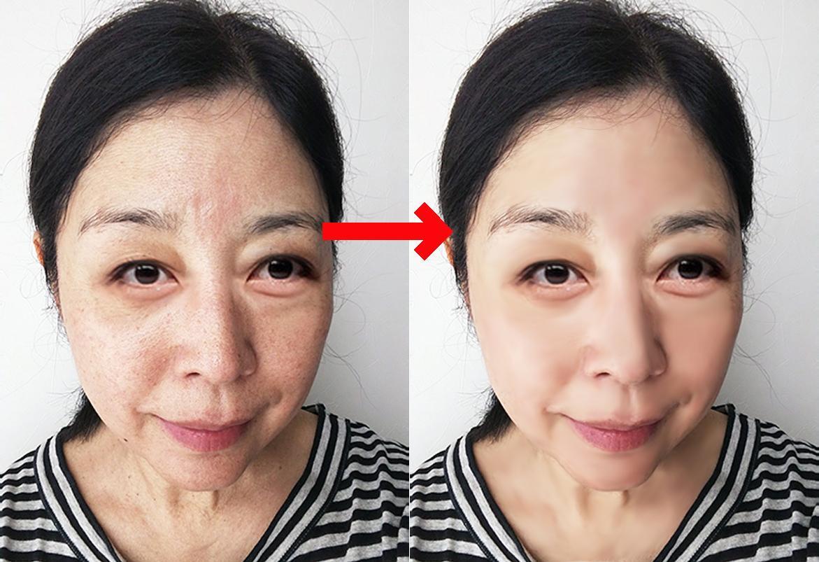 写真加工であなたの肌を美しくします きれいな肌の自分の写真をソーシャルネットワークへ投稿! イメージ1