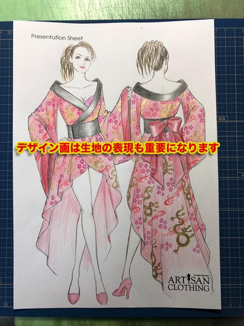 ファッションデザイン画を描きます デザイナー歴30年のプロの仕事を信頼して下さい!