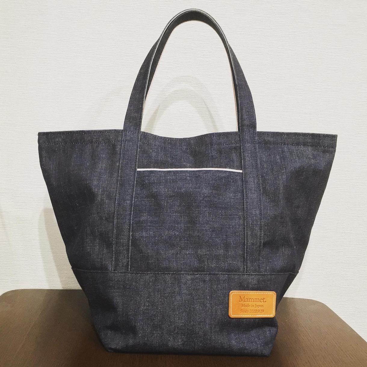 国産デニム生地を使用したオーダーバッグ等受付けます デニム素材を使用したバッグや小物、服等のオーダーメイド イメージ1