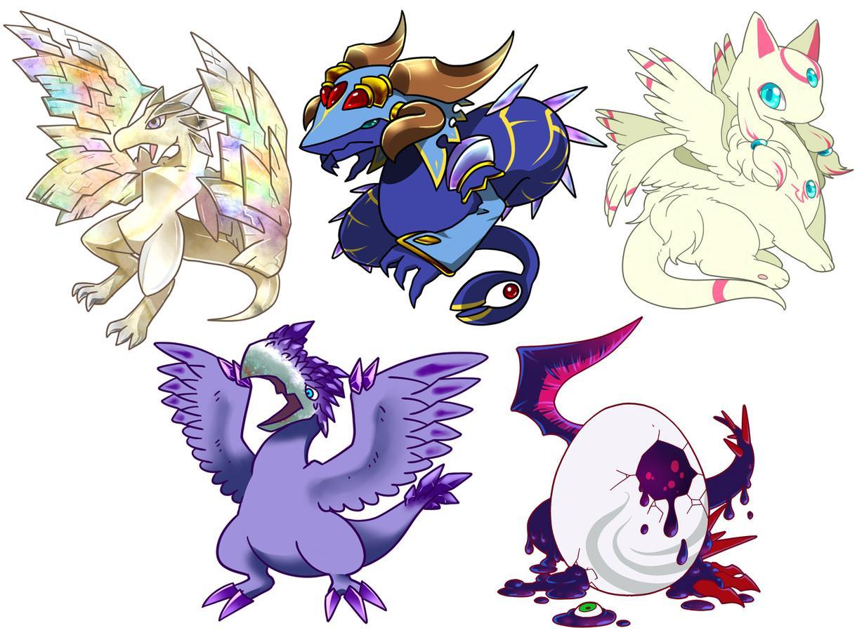あなただけのドラゴン描きます どんなドラゴンになるか、おみくじ感覚でどうぞ。