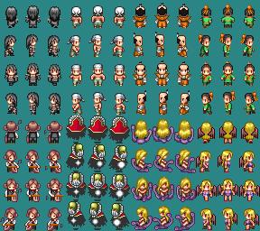 アイコン・キャラクター等 ドット絵描きます RPGツクール素材対応/オリジナル・版権・商用