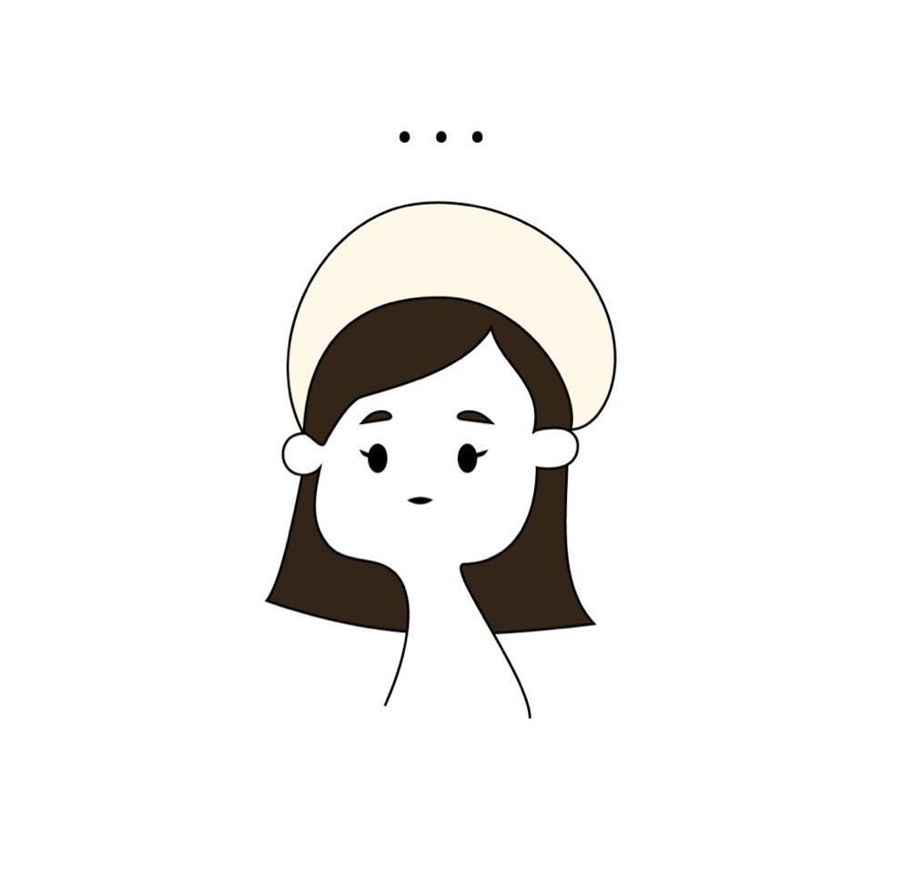 シンプルでかわいいイラスト(挿絵)をお描きします SNSのアイコンや販促物用に!かわいい人物像御描きします!! イメージ1