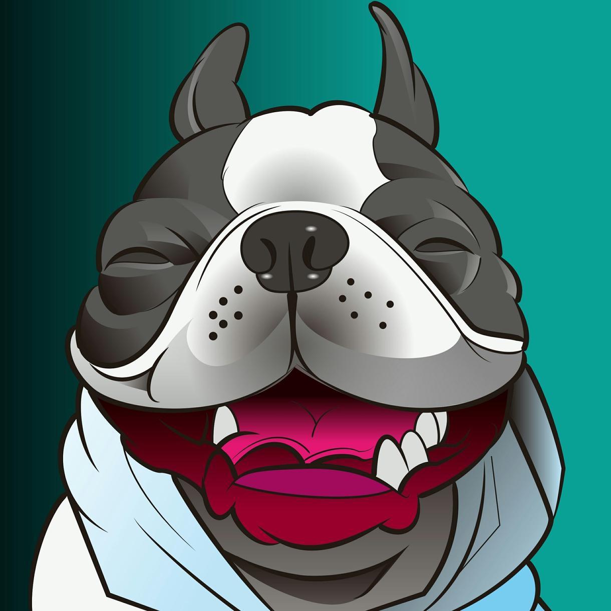 ペット似顔絵お描きします キャラクターグッズ・アイコンにオススメ