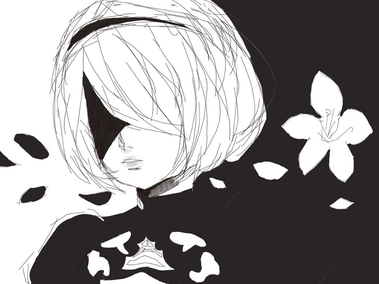 キャラクターのイラスト描きます 萌え系、鬱系な世界観が得意です。