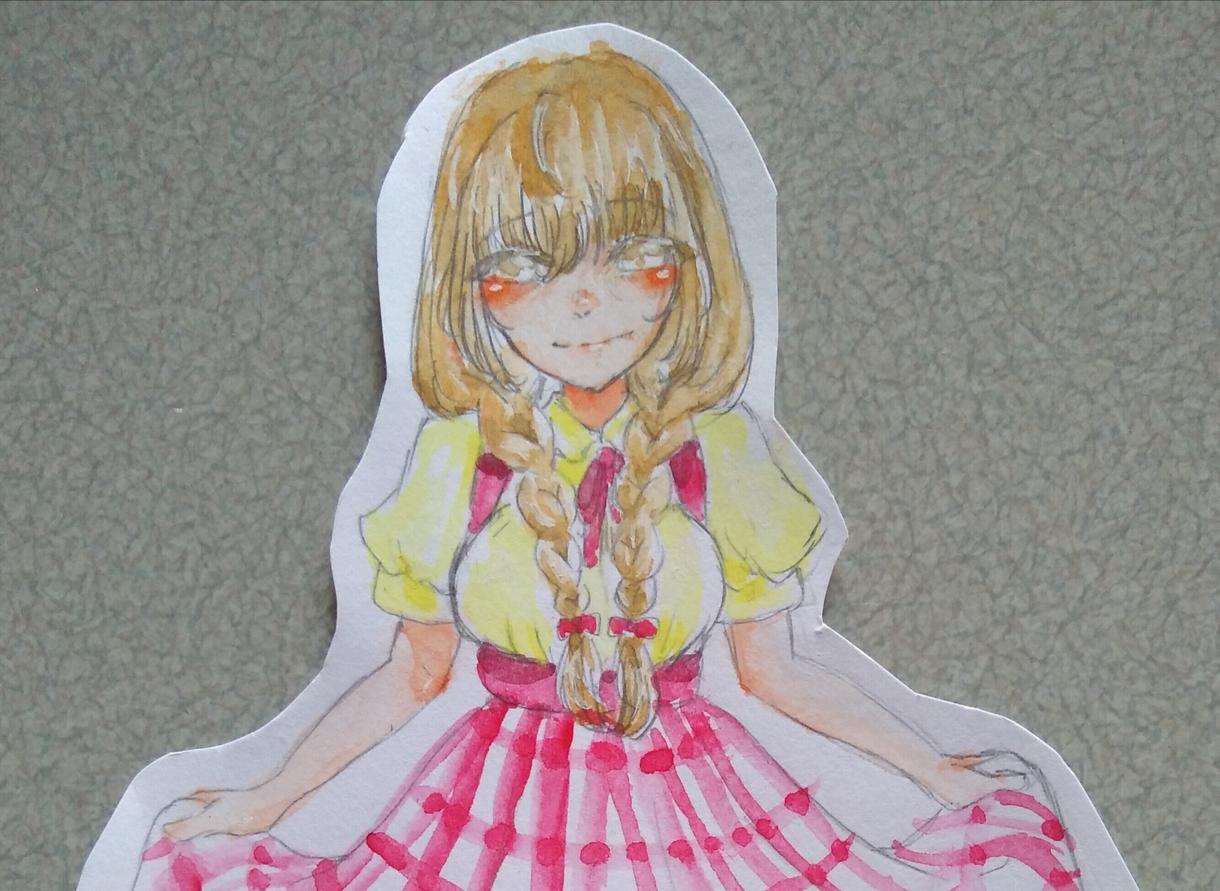 オリジナルイラスト、描きます みなさんの理想の女の子を絵にするのをお手伝いします☆彡