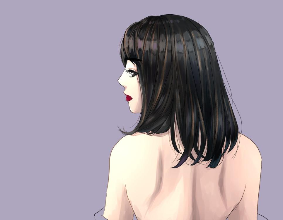 かわいいアイコンイラスト制作します かわいい女の子が得意です。塗り込み料金頂きません!