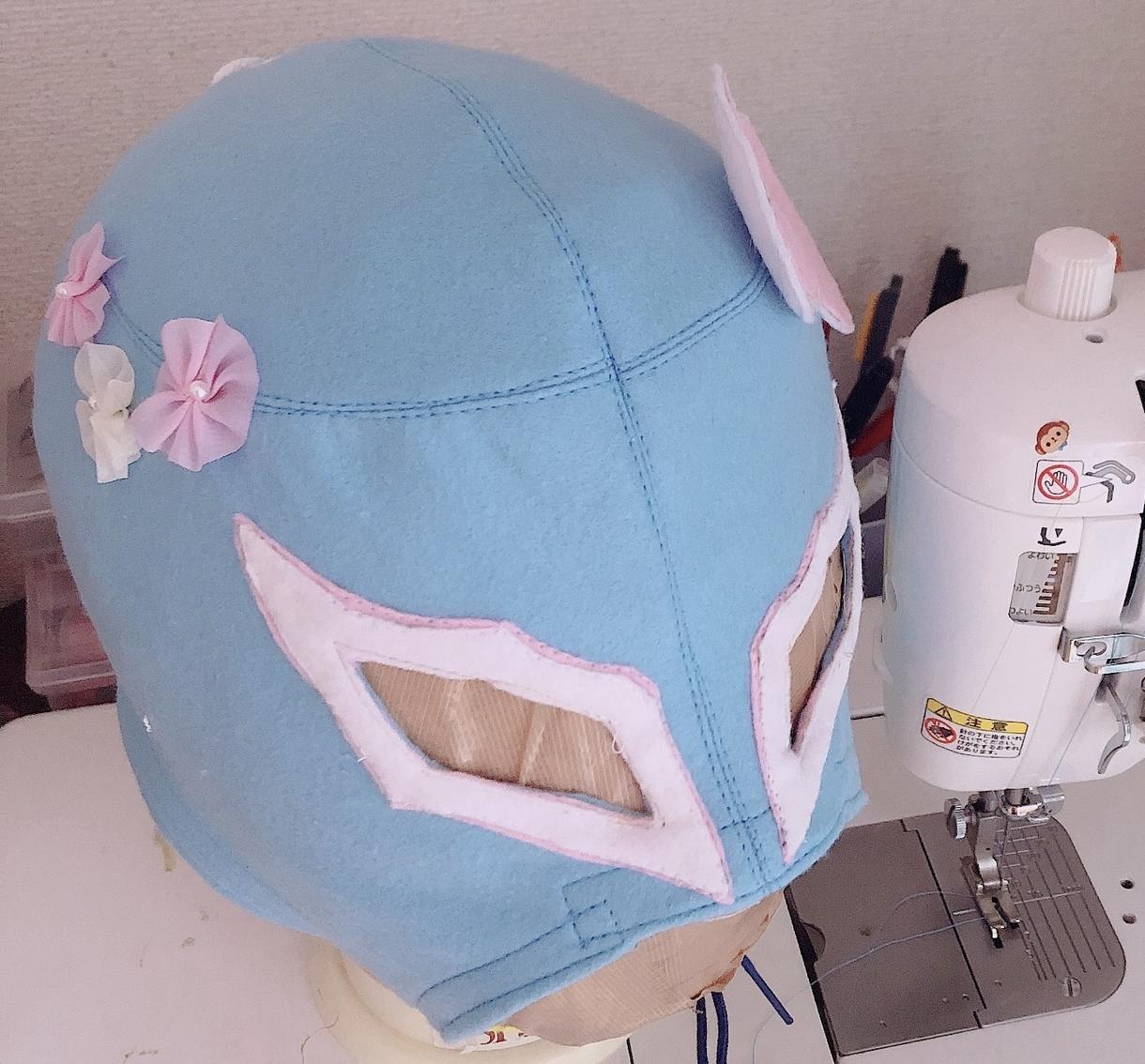 フェルト素材の応援用プロレスマスクつくります 安価でプロレスマスクが欲しい方に!