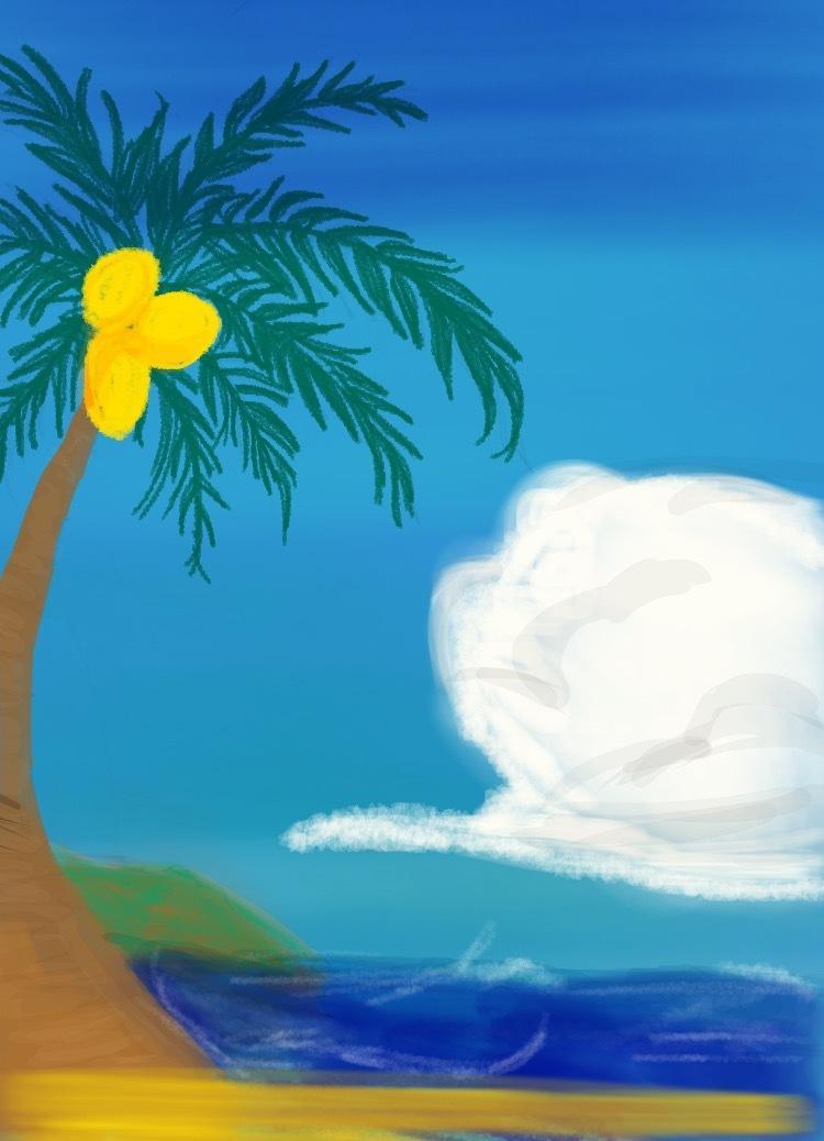季節の背景を描きます インスタのアイコンや背景にもお使いできます。