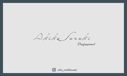 シンプル・スタイリッシュな名刺作成します 既存のデザインを基に、配色/フォント等を調整 イメージ1