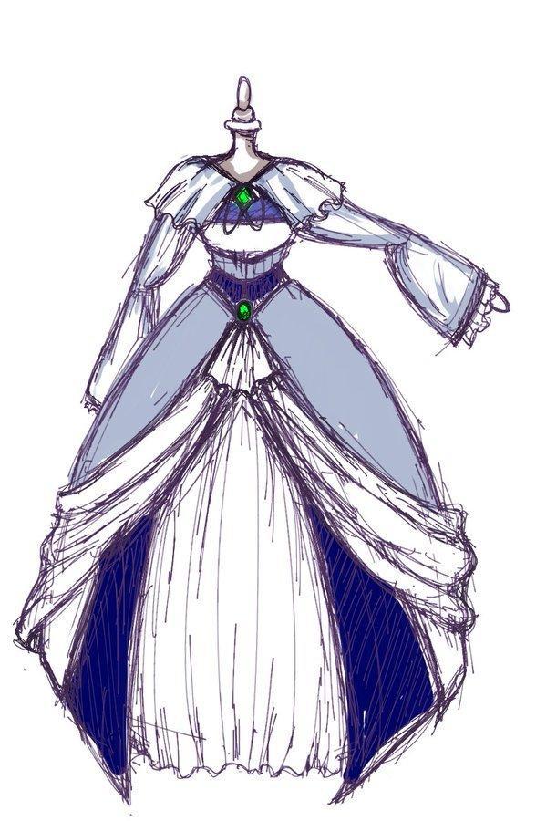キャラクターの服をデザインします 企画での使用・イメージ固め・他者への説明にどうぞ!