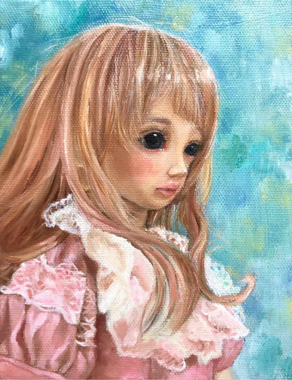 ドールの油絵描きます あなたの大切にしているドールを記念の1枚に。 イメージ1