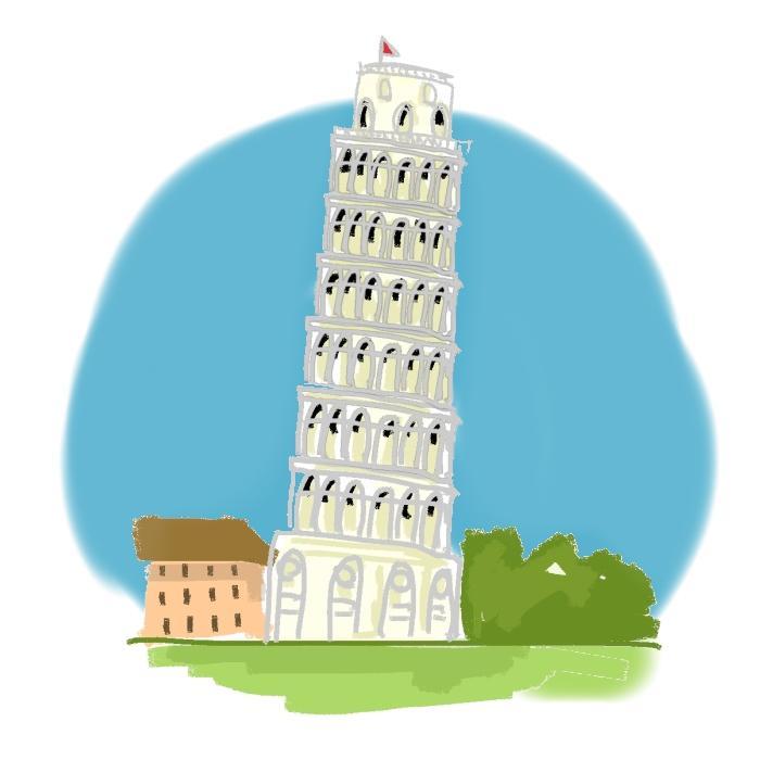 ★お家・ショップ・建物をゆるい感じのイラスト 作成致します。