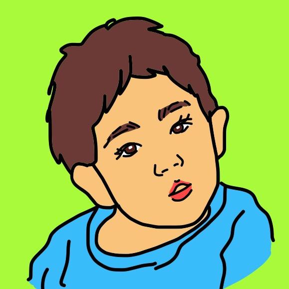 似顔絵アイコン描きます LINEやフェイスブック、インスタのアイコンにオススメ