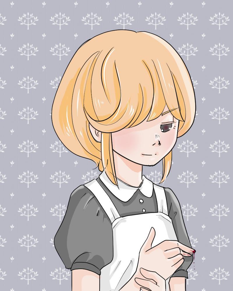 女の子オリジナルイラスト制作します イラスト好きな方へ、かわいい女の子イラストいかがですか?