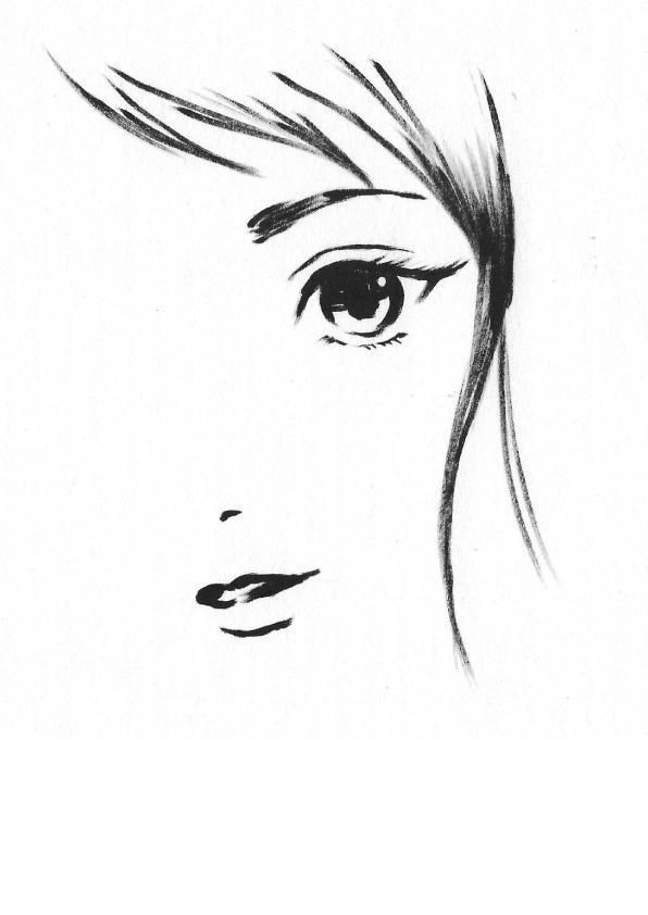 プロイラストレーターが墨絵描きます 挿絵・プレゼントなどに印象的なイラストを!