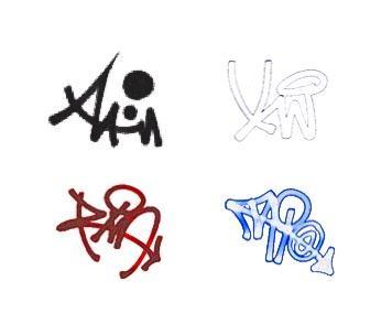 おなたのアダ名やお名前をhiphop風に創作します 名前をもとにHiphop風のサインをお創りします