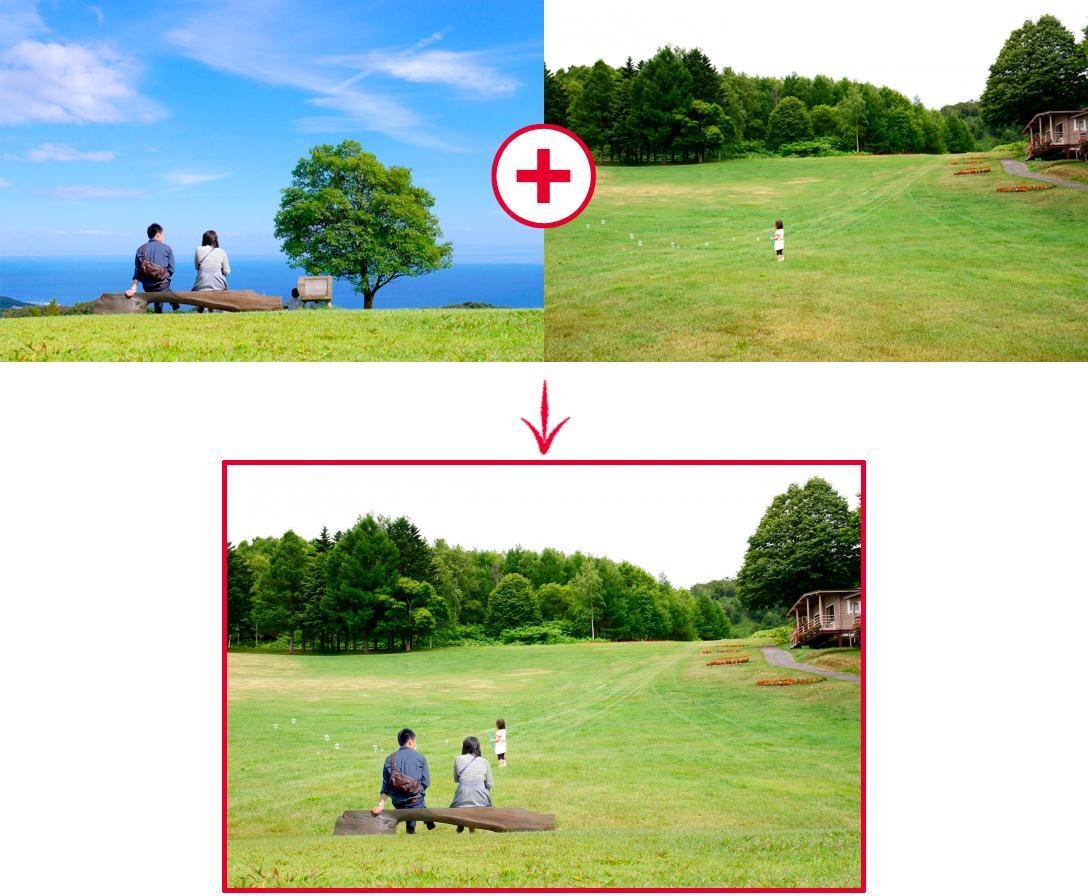 通常便! 写真・画像の加工・レタッチいたします 手持ち写真の色を変えたい!合成したい!そんなあなたにオススメ