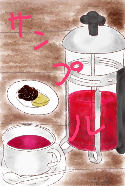カフェの商品をイラストにします カフェの商品がイラストに⁉︎なります!!!
