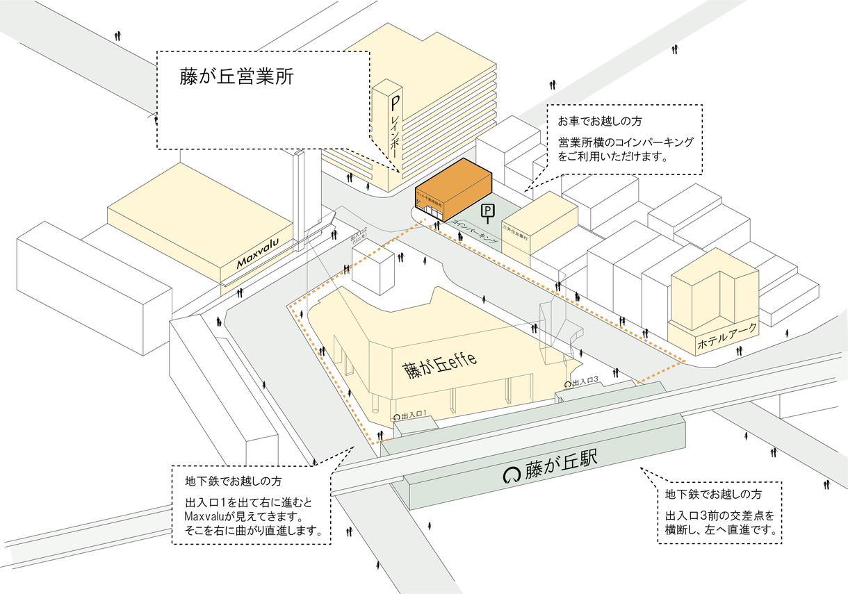 3Dのシンプルでわかりやすい地図を作成します ミラノの建築デザイナーによる3D案内図