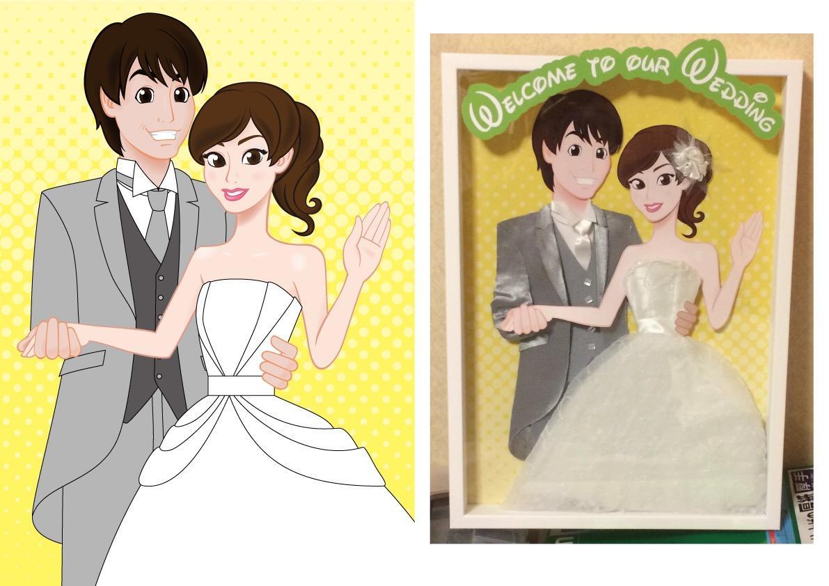 ウェルカムボード作成します ☆結婚・出産・新築祝いなど華やかにお祝いします☆