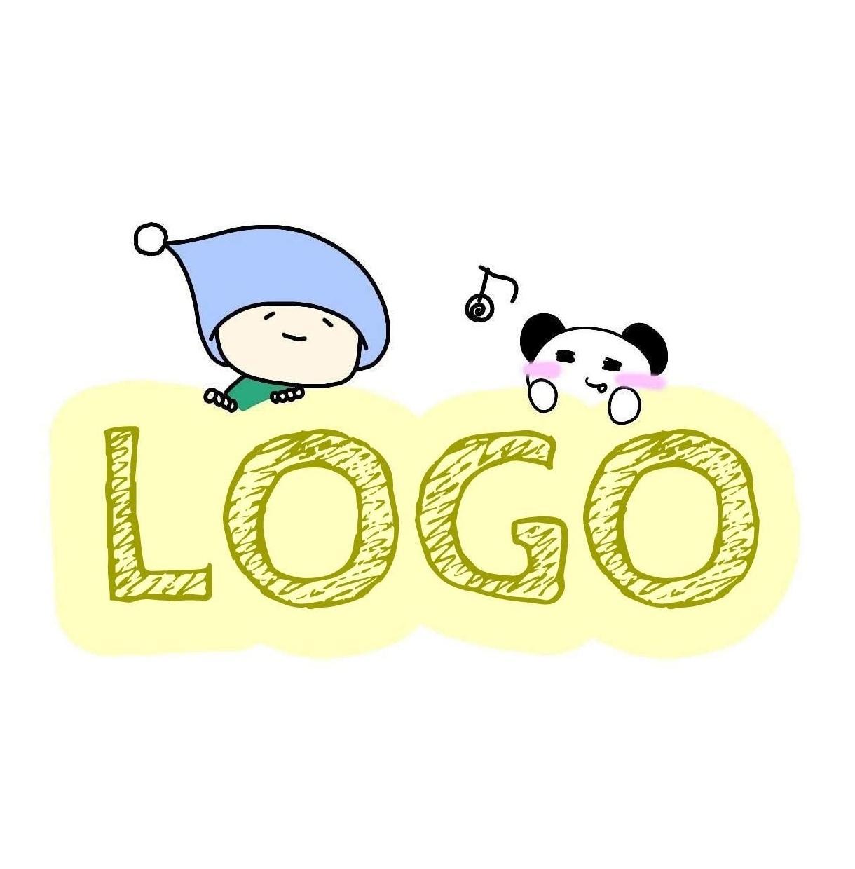 イラスト付きOK★オリジナルのロゴ作成いたします <企業・店舗・ブログ・HP・ヘッダー・バナー・バンドロゴに>