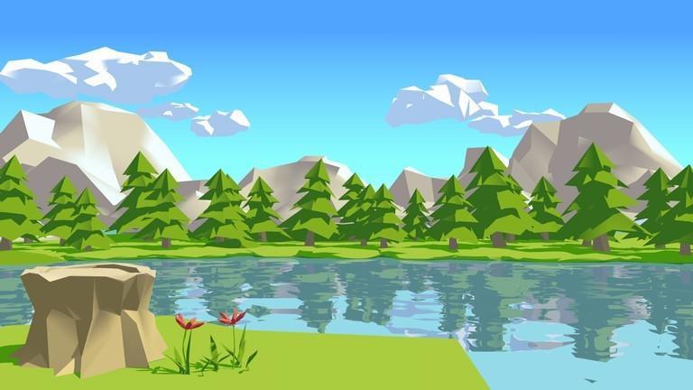 シンプルな背景イラスト作成いたします スマホアプリの背景やWebサイトの挿絵などに